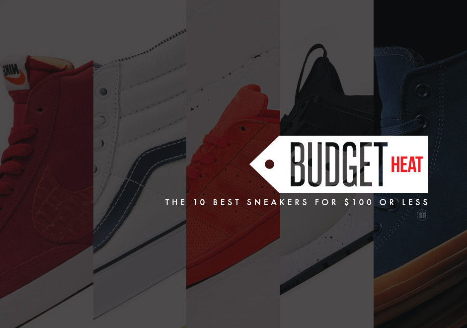 78191aae71f7 Budget Heat  November s 10 Best Sneakers for  100 Or Less ...