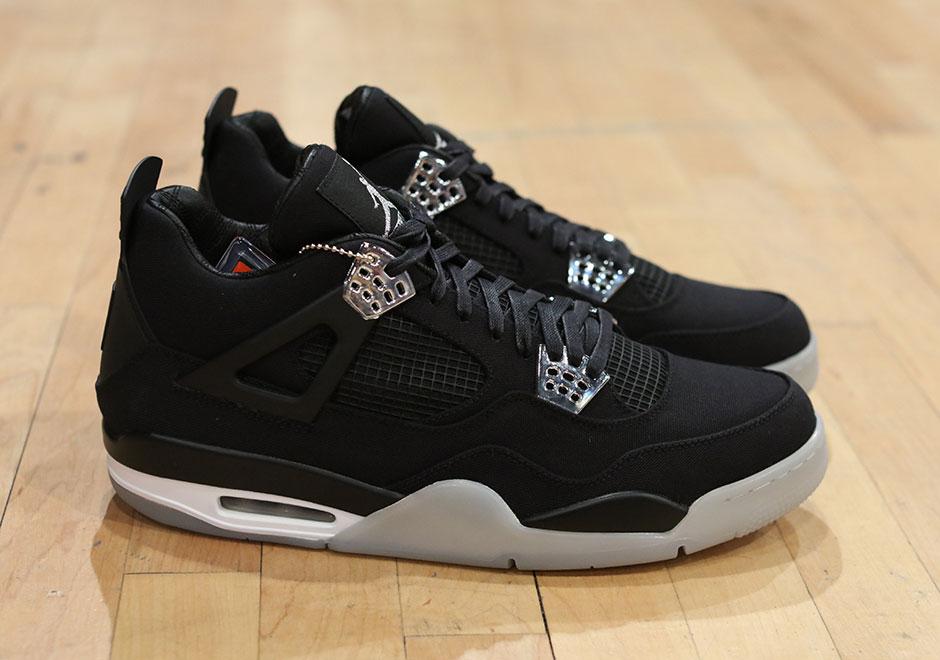 70922338f24 Eminem x Carhartt x Air Jordan 4 Makes An Appearance at Sneaker Con -  SneakerNews.com
