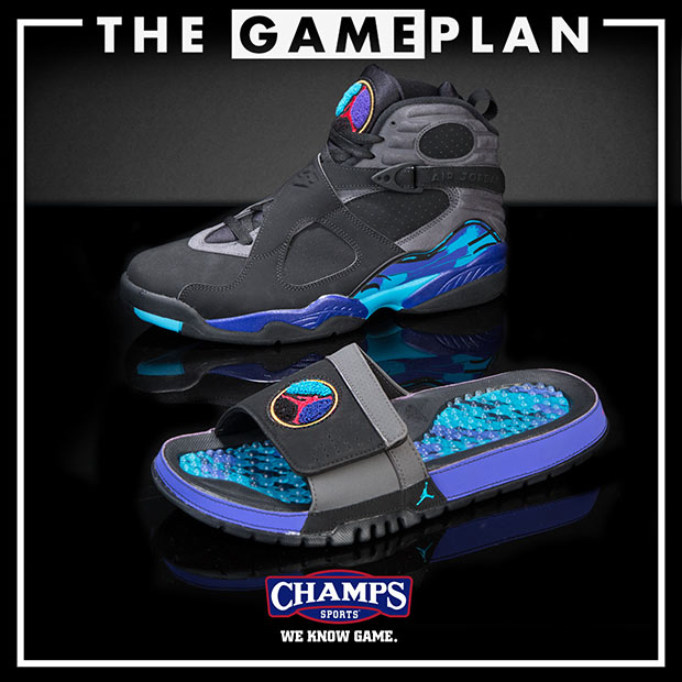 16ee78566a1886 ... Shirts Original Rufn Brighten Up The Holiday With the Jordan Aqua  Collection By Champs Sports The Game Plan Air Jordan 8 Alternate ...