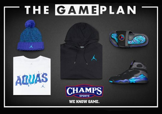 Brighten Up The Holiday With the Jordan Aqua Collection By Champs Sports The Game Plan