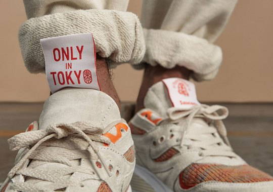 """Footpatrol And BEAMS Clash For An Awesome Saucony """"Only In Tokyo"""" Collaboration"""