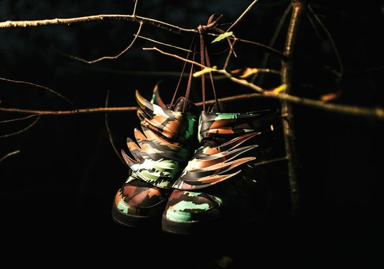 Jeremy Scott Takes The Wild Wings 3.0 To The Forest