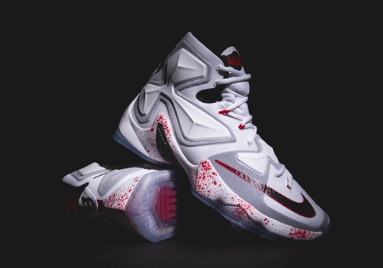 "Nike Honors The Scariest Date In History with Nike LeBron 13 ""Horror Flick"""