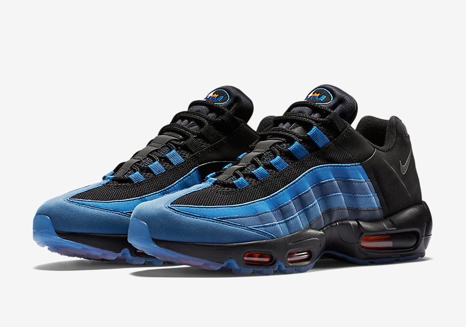 get cheap 53d73 a8827 LeBron James Has His Own Nike Air Max 95 Colorway - SneakerNews.com