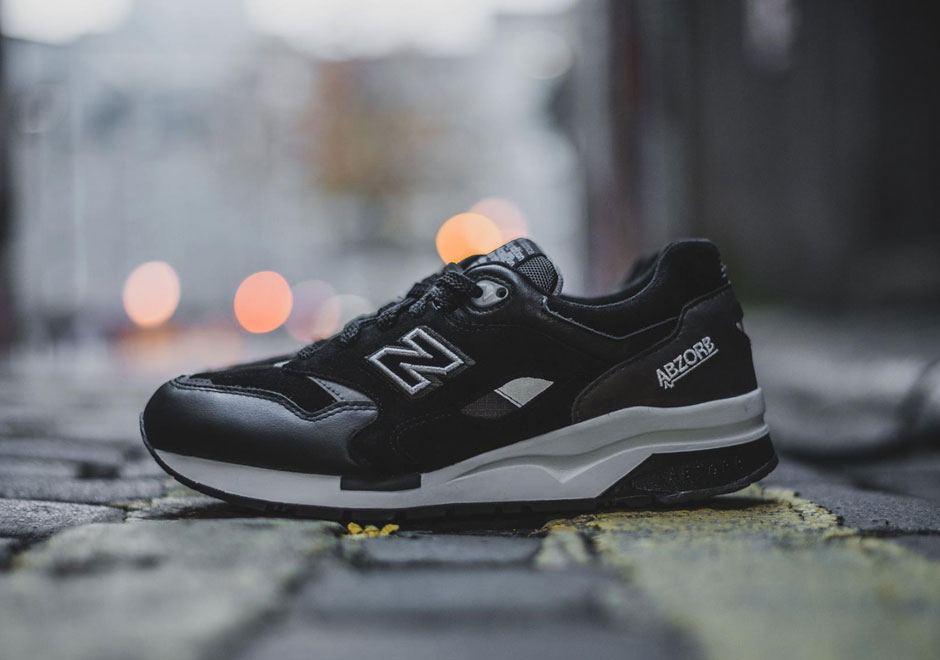 new balance 1600 black gum for sale