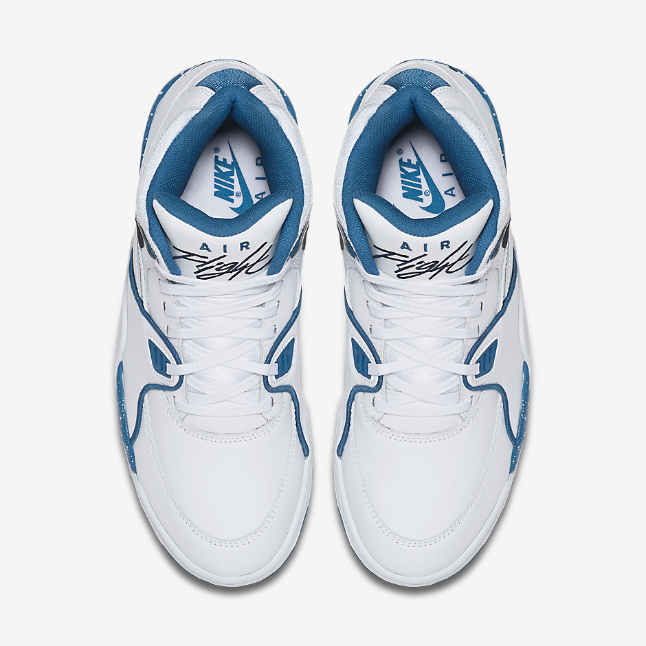... Nike Air Flight 89. Color WhiteDark Obsidian-Brigade Blue ...