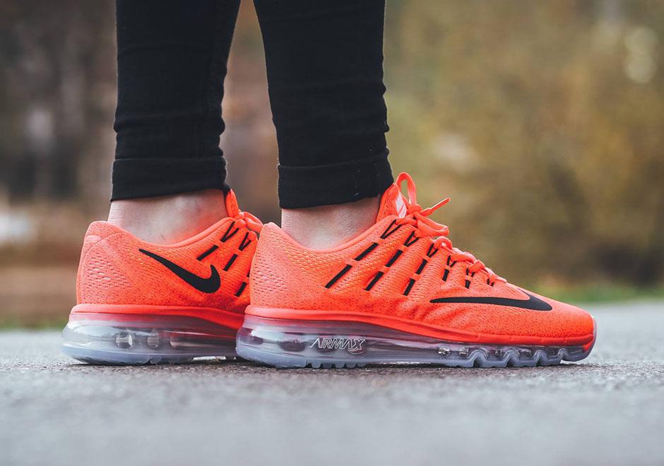 Nike Air Max 2016 (GS) Bright Crimson Black Gym Red