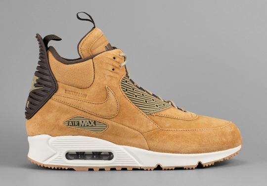 "The ""Wheat"" Look Continues With the Nike Air Max 90 Sneakerboot"