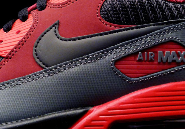 new concept f7c7c 44fbf Shades Of quotInfraredquot In This New Nike Air Max 90 durable modeling