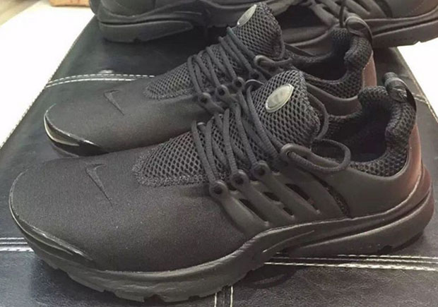 All-Black Nike Air Prestos Are Releasing In January 2016 b9c1d9613d41