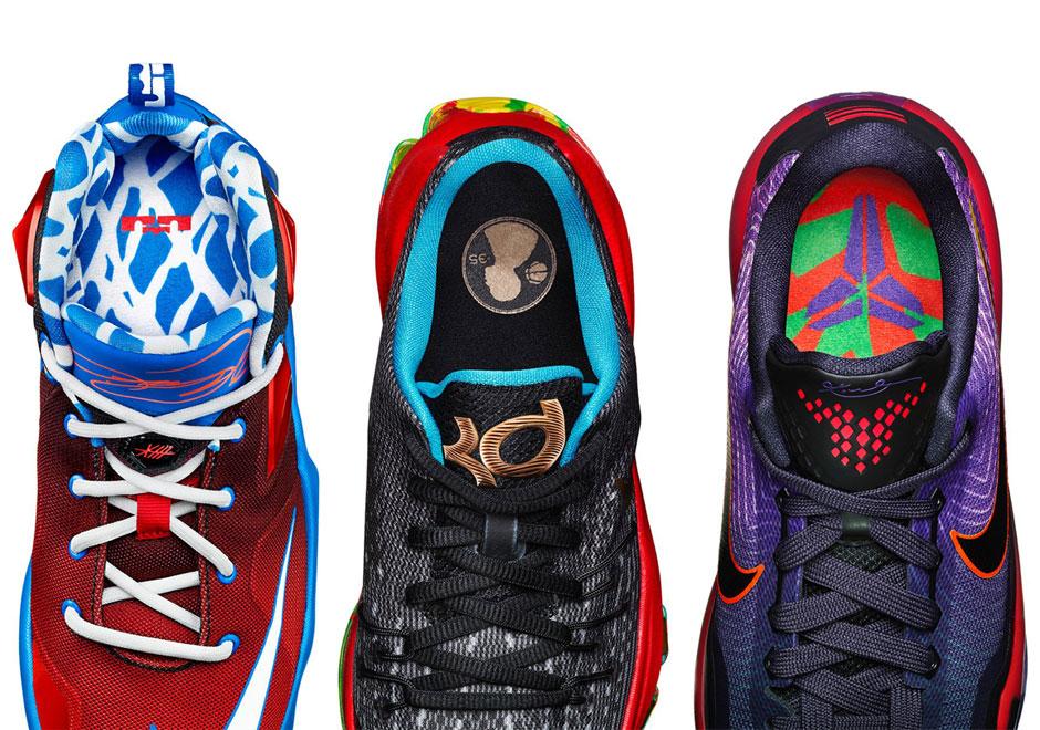 Nike Basketball Transforms The LeBron 13, KD 8, & Kobe 10
