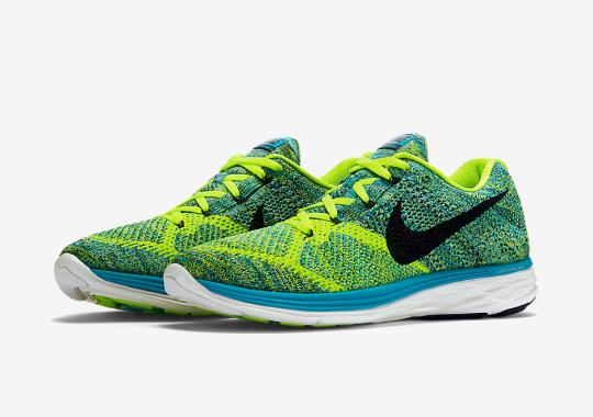 """Nike Flyknit Lunar 3 """"Blue Lagoon"""""""