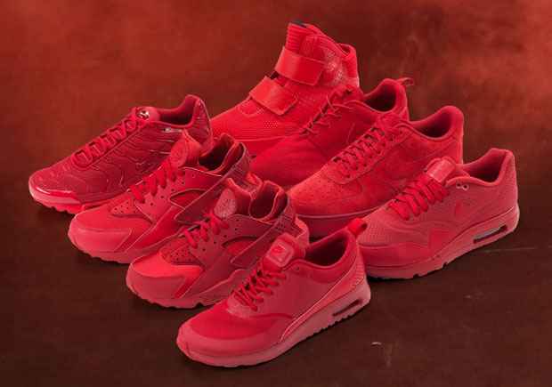 on sale faabb 265f2 There s No Shortage Of All-Red Nike Sneakers For Christmas - SneakerNews.com