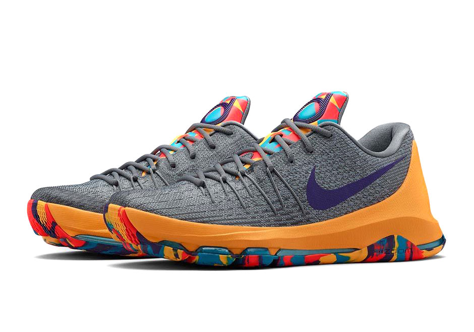 sports shoes b2948 8cd53 The Next Nike KD 8 Release Pays Tribute To Durant s Hometown Roots