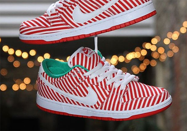 online store 452fb 9bbb3 Nike SB Dunk Candy Cane 313170-613 | SneakerNews.com