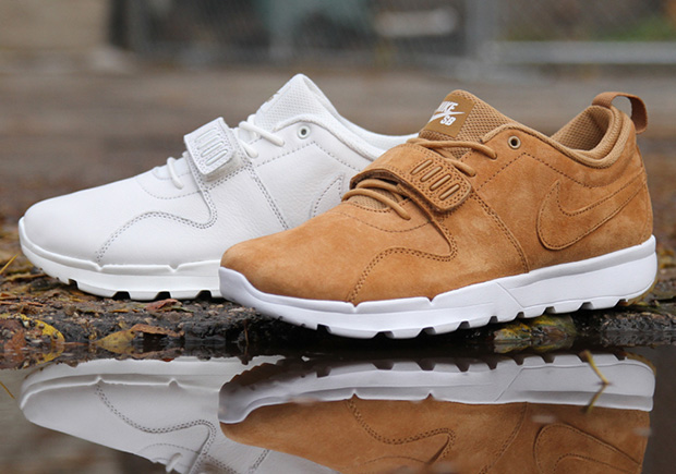 "c3cf1c9030 Nike SB Releasing ""Flax"" and ""White Leather"" Versions Of The Trainerendor"