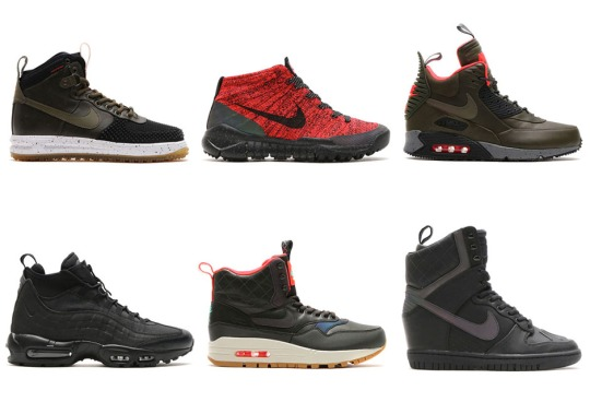 Nike's Holiday 2015 Sneakerboot Collection Launches Tomorrow