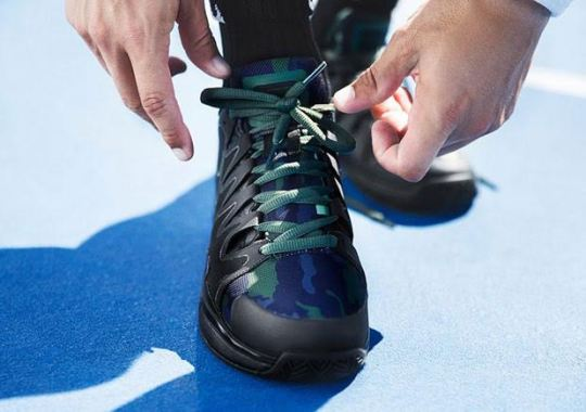 NikeCourt Unveils Camouflage Styles For The Winter