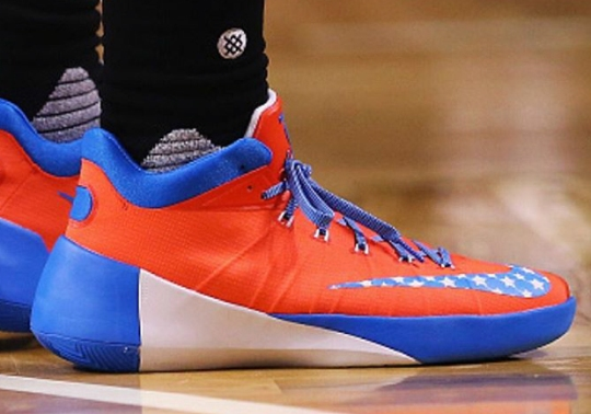 Paul George Records A Double-Double In Nike Hyperdunk 2015 Low PE