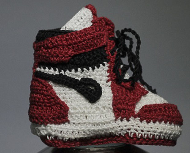 These Crocheted Air Jordan 1s In OG Colorways Are A Must