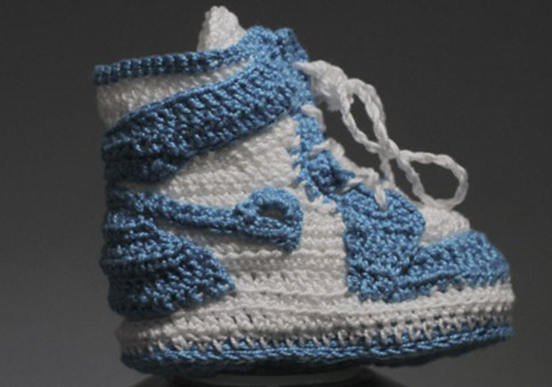 Crochet Jordans : These Crocheted Air Jordan 1s In OG Colorways Are A Must-Have For ...