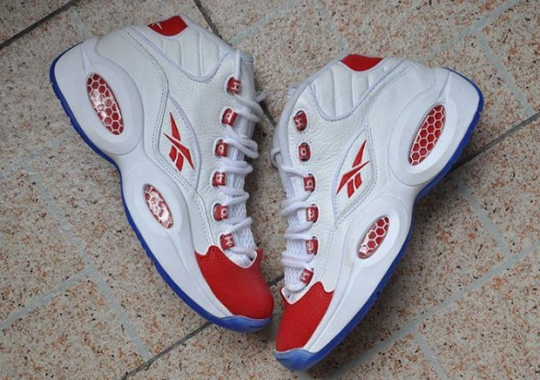 Reebok Is Celebrating 20 Years Of Question With An Original