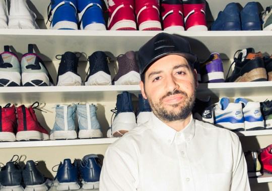 A Look Inside Ronnie Fieg's Sneaker Closet