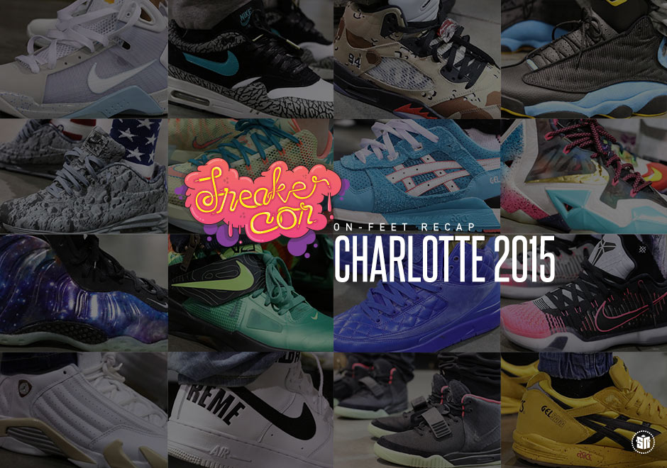 99 Awesome On-Feet Kicks Spotted At Sneaker Con Charlotte