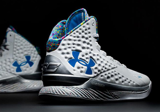 "a777c70331a8 Celebrate Steph Curry s Birthday Eight Months Late With the UA Curry One  ""Splash Party"""