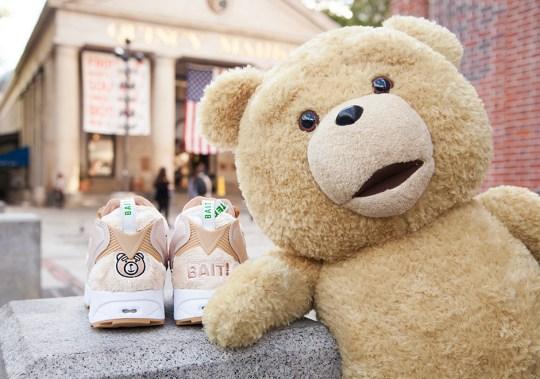 "BAIT x TED 2 x Reebok Instapump Fury ""Happy Ted"""