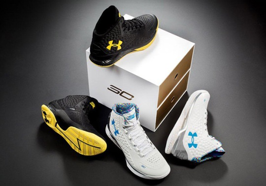 Under Armour Curry One Championship Pack Releasing Again After Christmas