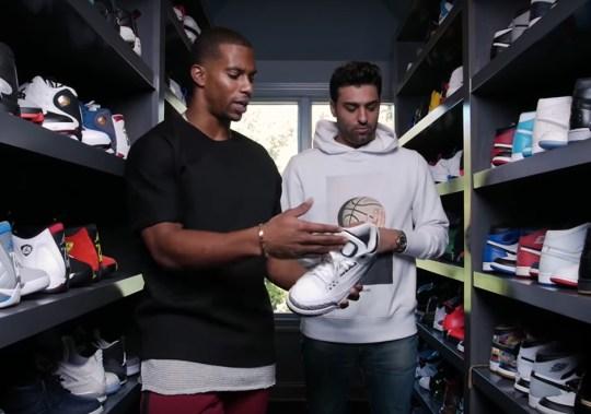 Victor Cruz Has An Entire Separate Sneaker Closet For His Air Jordan Retros