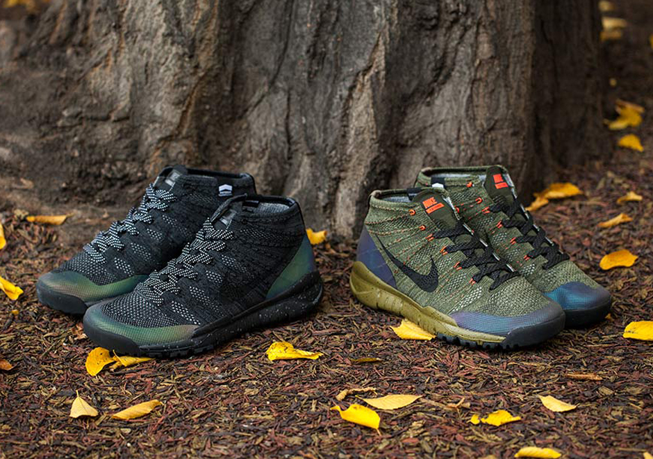 Weather-Proof Nike Flyknit Chukka FSBs Are Coming Soon - Gov