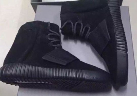 "adidas Yeezy Boost 750 ""Blackout"" Releasing December 5th"