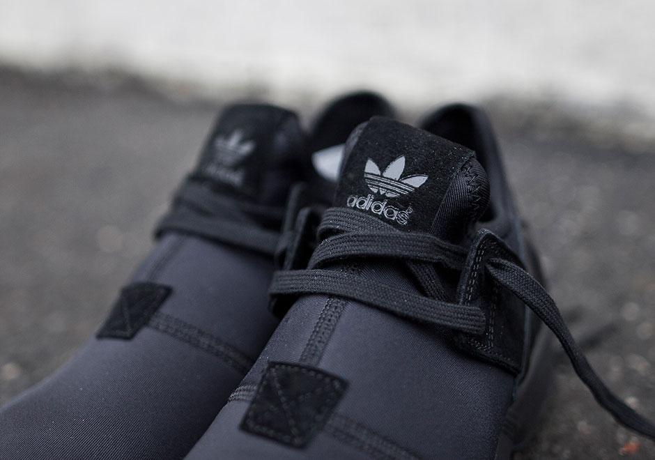 adidas originals zx flux noir et rose