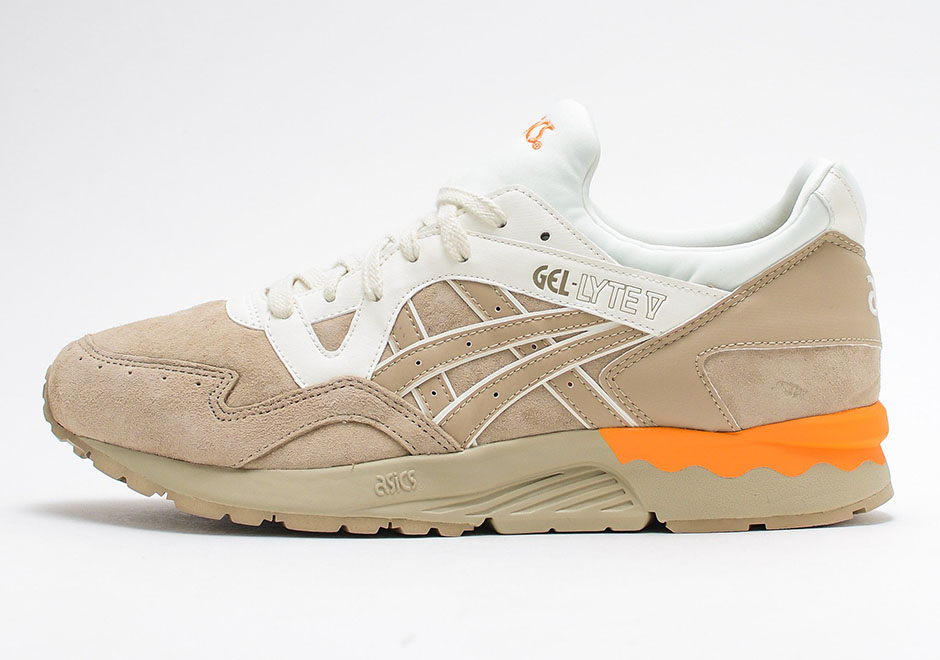 """This Unique New """"Sand"""" ASICS GEL-Lyte V Looks Good Enough To Be a Collab"""