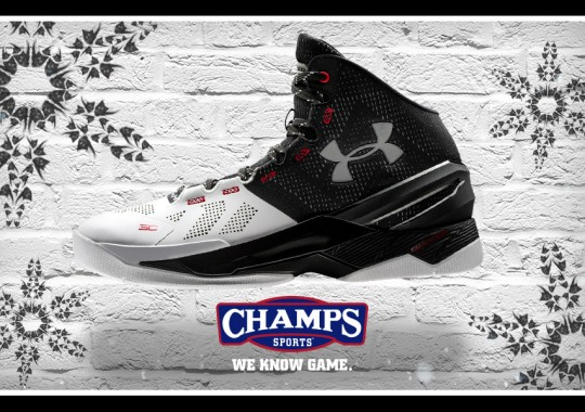 Shoeflakes And Threes Are Falling From The Sky Thanks To Champs And The UA Curry  Two