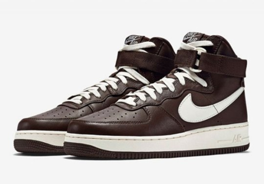 The Nike Air Force 1 High Gets Another Chocolate Makeover