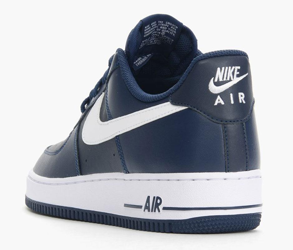 Nike Air Force 1 Low Hvit Midnatt Navy 4EpN8jXu