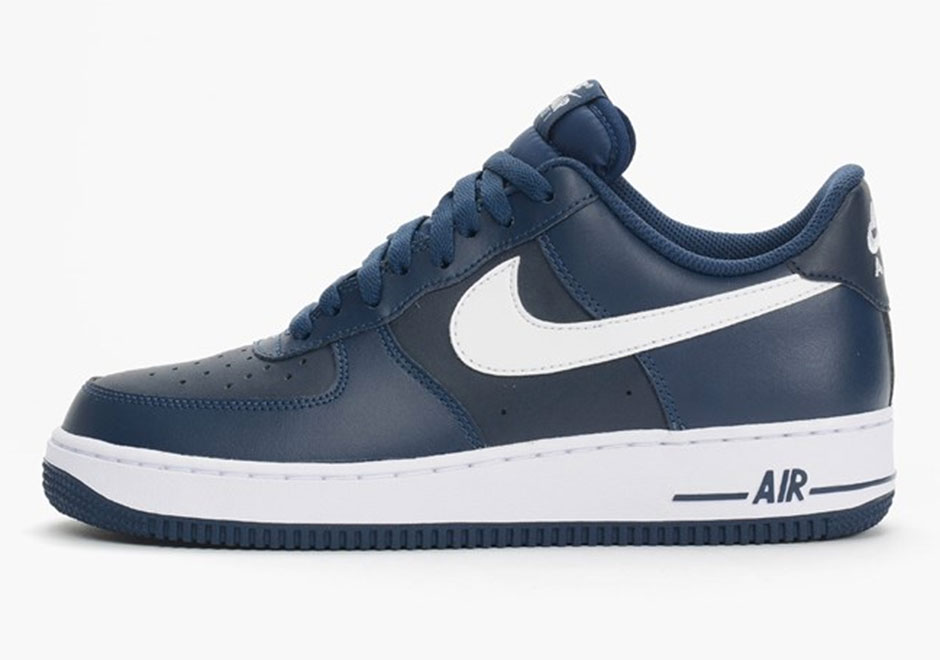 """wholesale dealer a769b 4c634 Nike Air Force 1 Low """"Midnight Navy"""""""