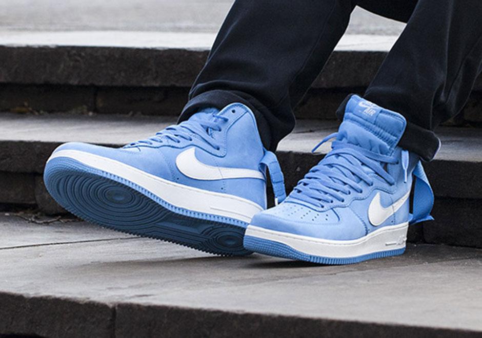 separation shoes ff338 0a71d Nike Air Force 1 High QS University Blue | SneakerNews.com