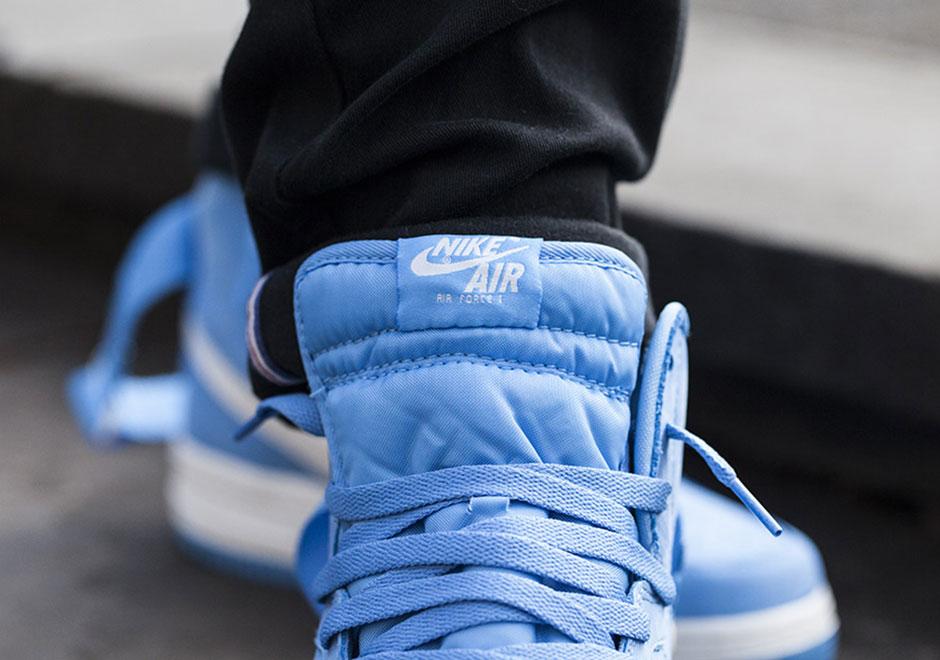Nike Air Force 1 High Qs Azul Universitaria wcaIz