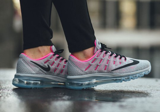 The Air Max 2016 GS Sees A Cool Grey and Hyper Pink Colorway