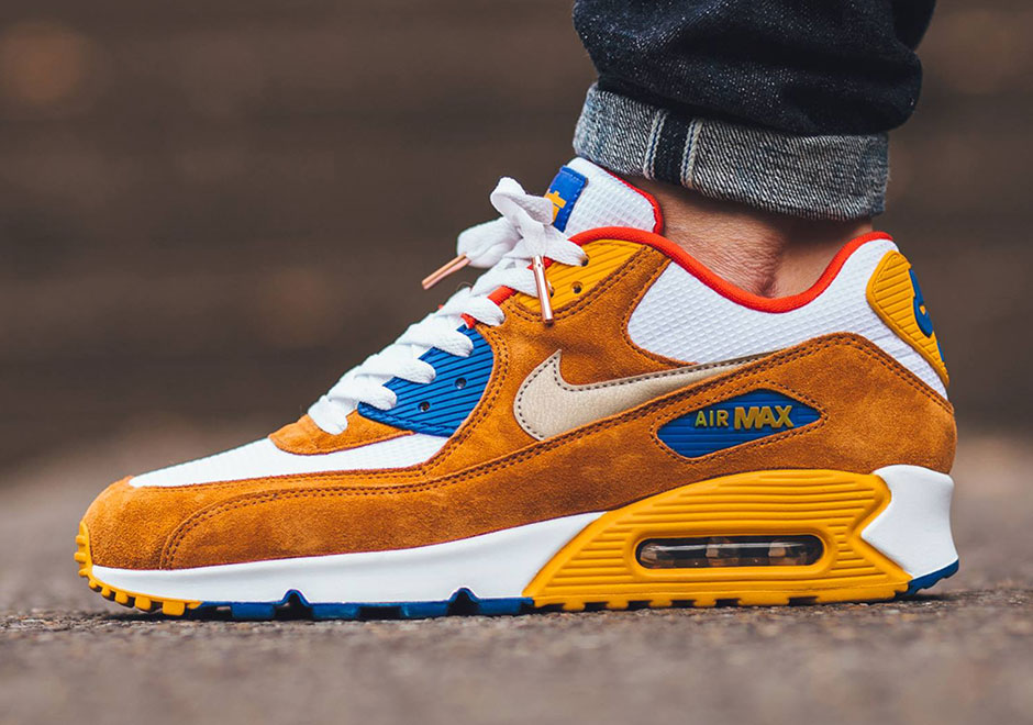 Nike Air Max 90 Premium Chicago Edition Blue White