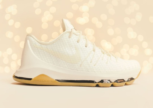 "Nike KD 8 EXT ""Woven"" In White Releases Soon"