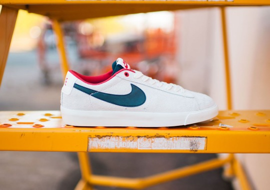 The Nike SB Blazer Low GT Goes a Bit Patriotic