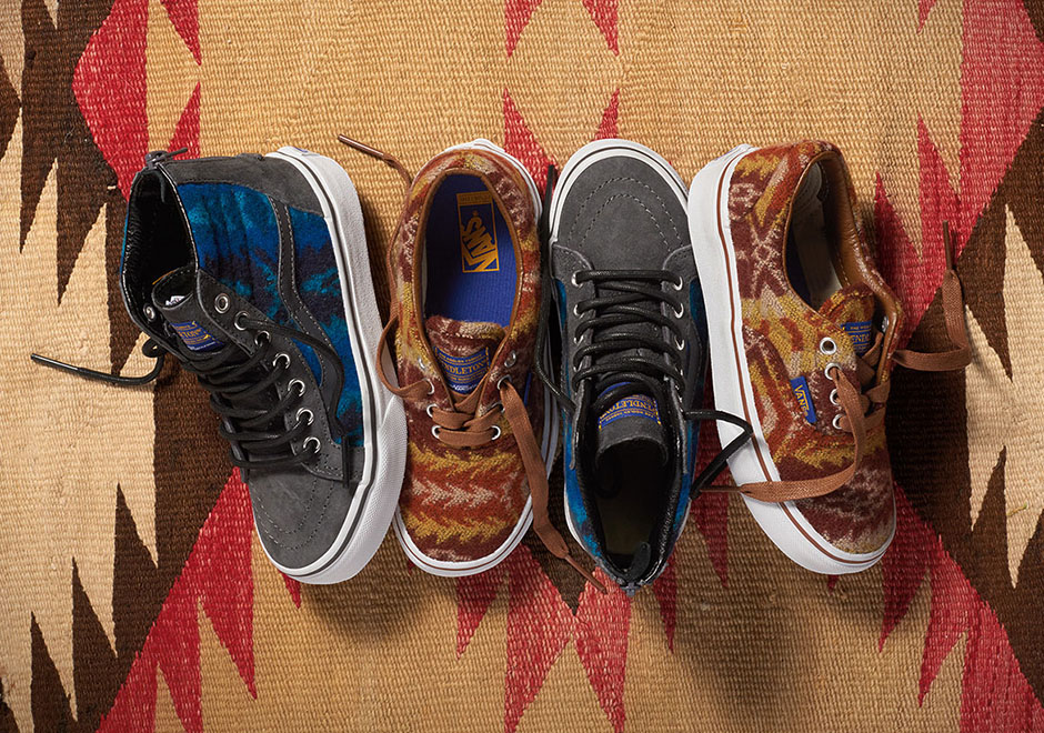 b44fb4c56c Pendleton and Vans Offer an Awesome Winter Collection - SneakerNews.com