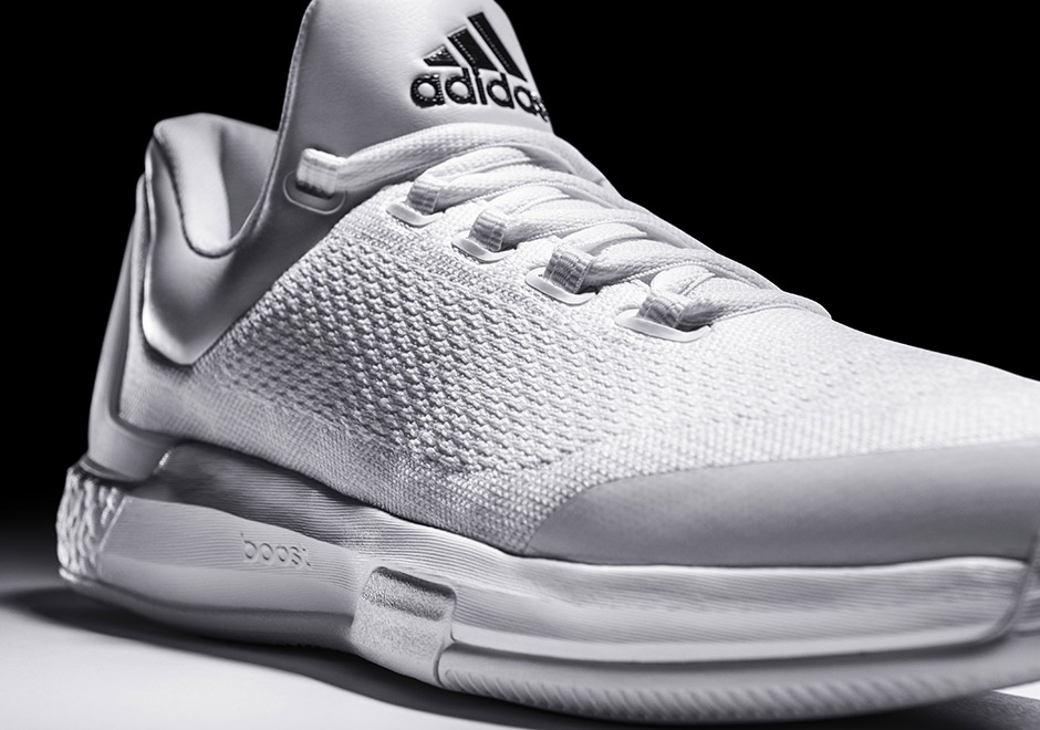 "7e3e6219d98c There s an Extremely Limited Release of James Harden s ""Triple White"" adidas  Crazylight Boost"