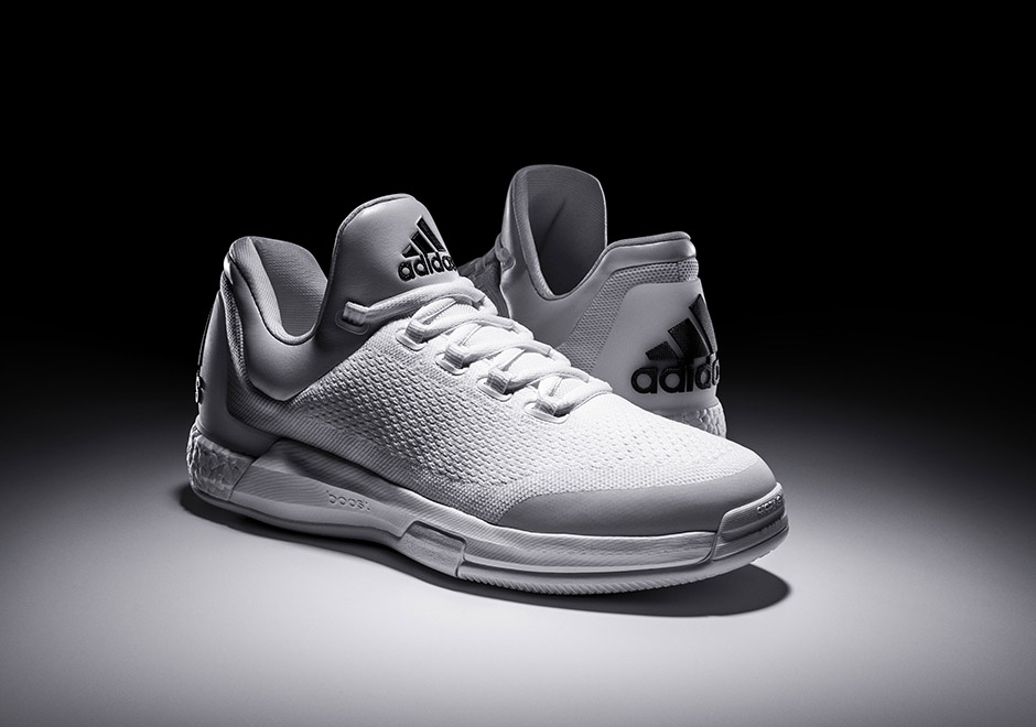 adidas James Harden Crazylight Boost Triple White 100 Pairs