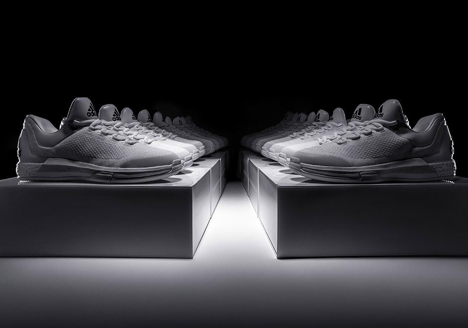 Adidas Crazylight Impulsar Gris Blanco Y Negro 1Z44d2AH